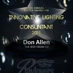 Innovative Lighting Consuntant - Don Allen   The Boy From Oz