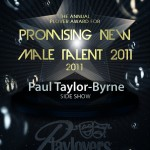 Promising New Male Talent - Paul Taylor-Byrne   The Boy From Oz