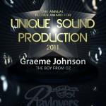 Unique Sound Production - Graeme Johnson   The Boy From Oz